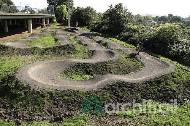 Dmr Pump Track Challenge Bristol England Dirt Bike Track
