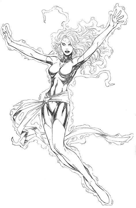 Http Www Just Marvel X Men Com Image Files X Men Coloring Phoenix 1 Jpg Cartoon Drawings Superhero Coloring Coloring Books