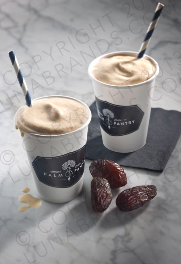 Date shake from Palm & Pantry Scottsdale, AZ. Client Photoshoot. #lunabrands.com #foodphotography ©Copyright 2013 All rights reserved