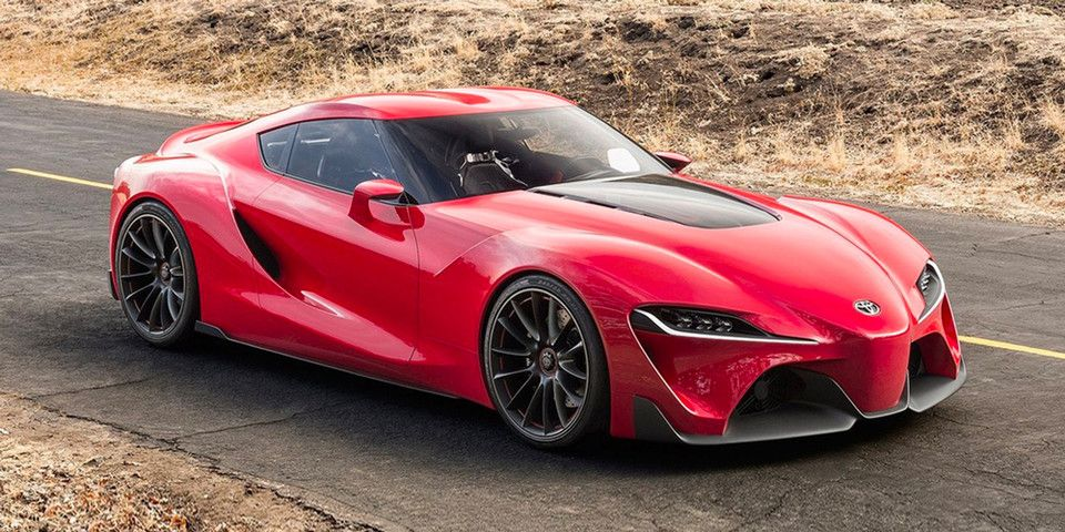 The First Ever 2020 Toyota Supra Produced Is Set To Be Auctioned For Charity Toyota Concept Car New Toyota Supra Concept Car Design