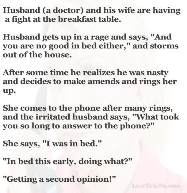 what wife expect from husband in bed