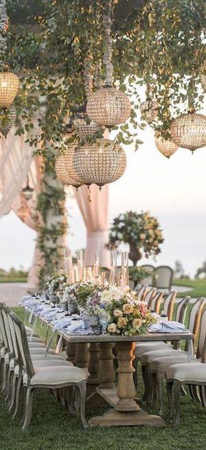 Beautiful Outdoor Wedding Decor