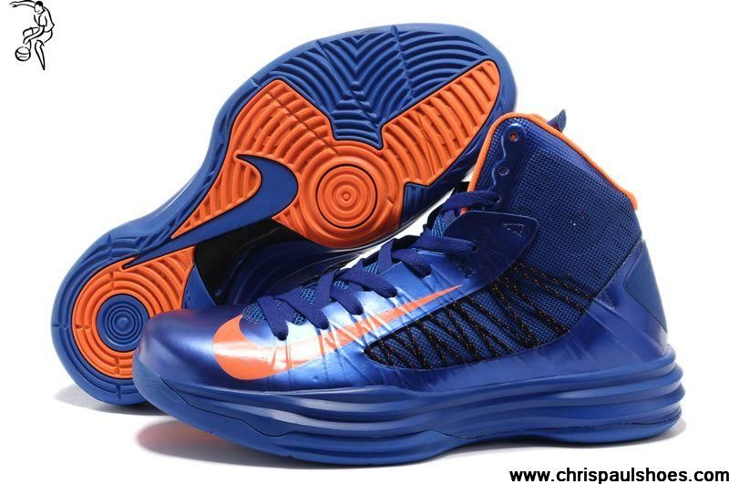 1e8762cfdd12 Latest Listing Discount Nike Lunar Hyperdunk 2013 Mens Basketball Shoes Blue  Orange Fashion Shoes Store