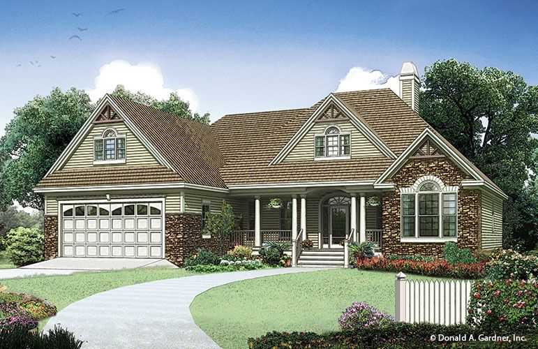 Home Plan The Carrollton By Donald A. Gardner Architects