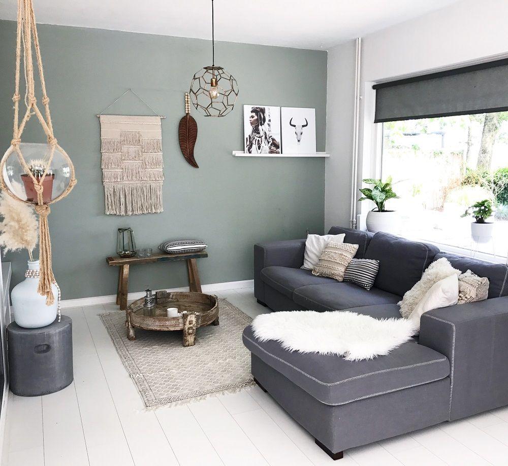 Binnenkijken bij Diny wooninspiratie woonkamer zithoek | Interieur ...