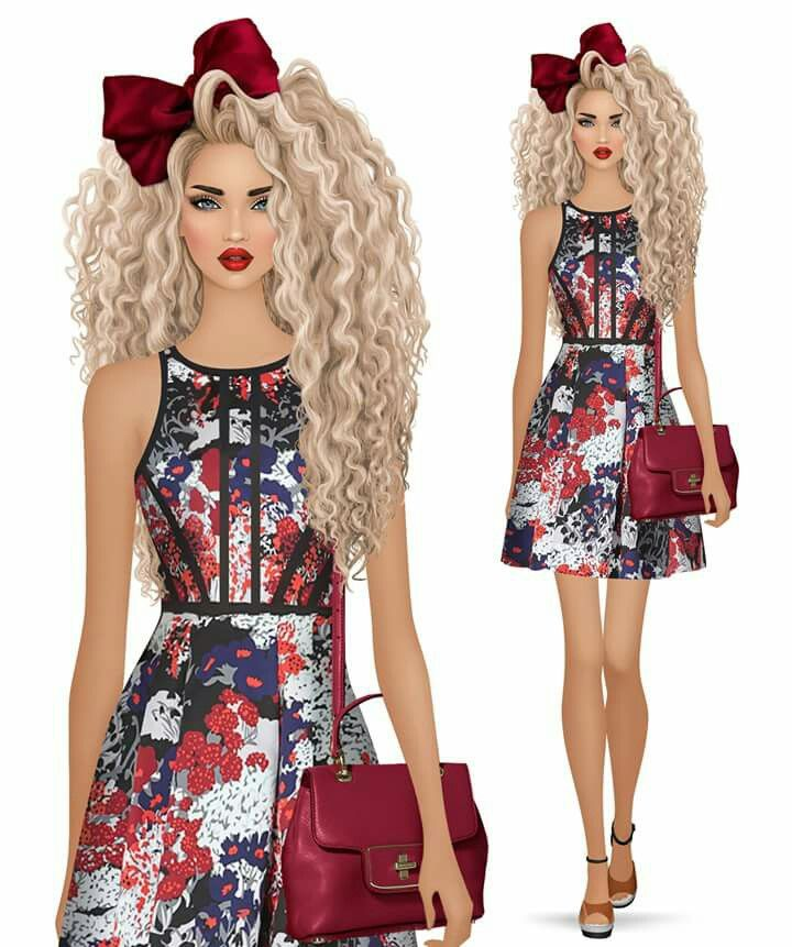 fashion dolls fashion games covet fashion fashion art fashion ideas fashion sketches fashion illustrations digital art girly m doll hairstyles