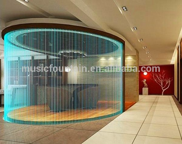 Hotel Decorative Water Curtain Indoor Artificial Wall ...