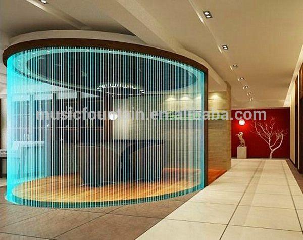 hotel decorative water curtain indoor