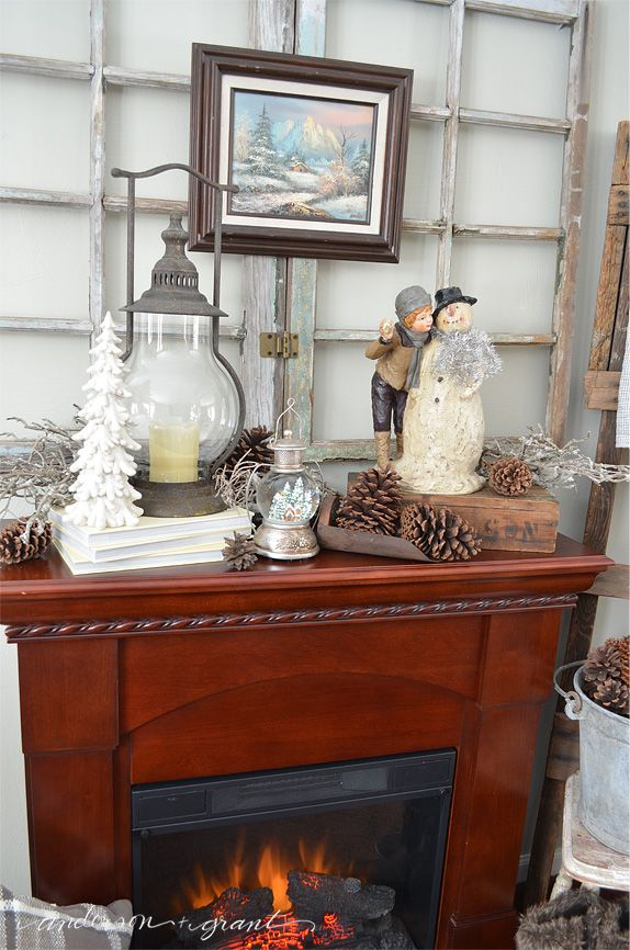 Beautiful How to Decorate My Fireplace Mantel