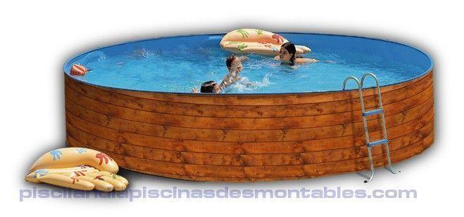Piscinas desmontables piscinas piscina piscinas for Piscinas de madera baratas