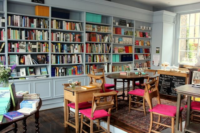 Love A Good Bookshop Cafe With Images Bookstore Cafe
