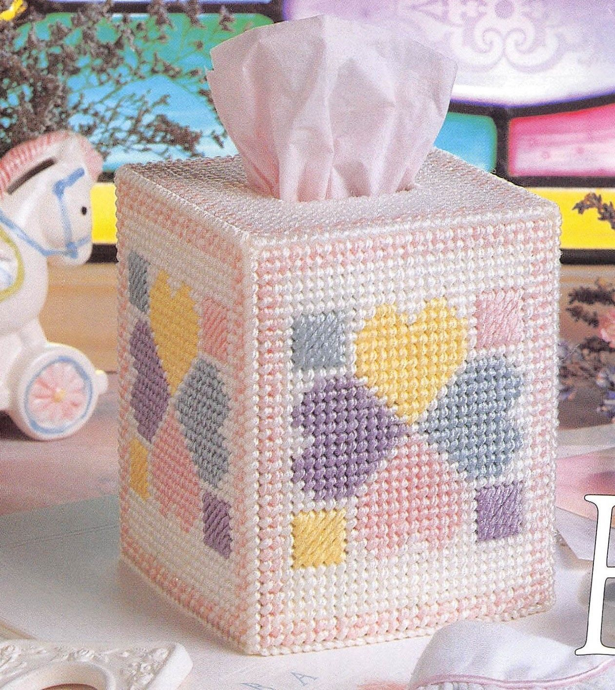In The Garden Annie/'s 7 Mesh Plastic Canvas Pattern//Instructions NEW