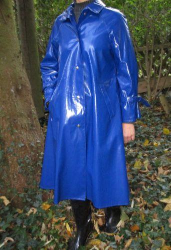Mantel Pvc Raincoat Rubber Regenmantel Gummi Lack fvgbYy76