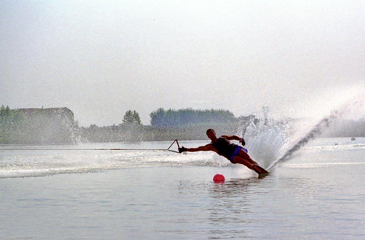 Slalom nel laghetto di Cordovado