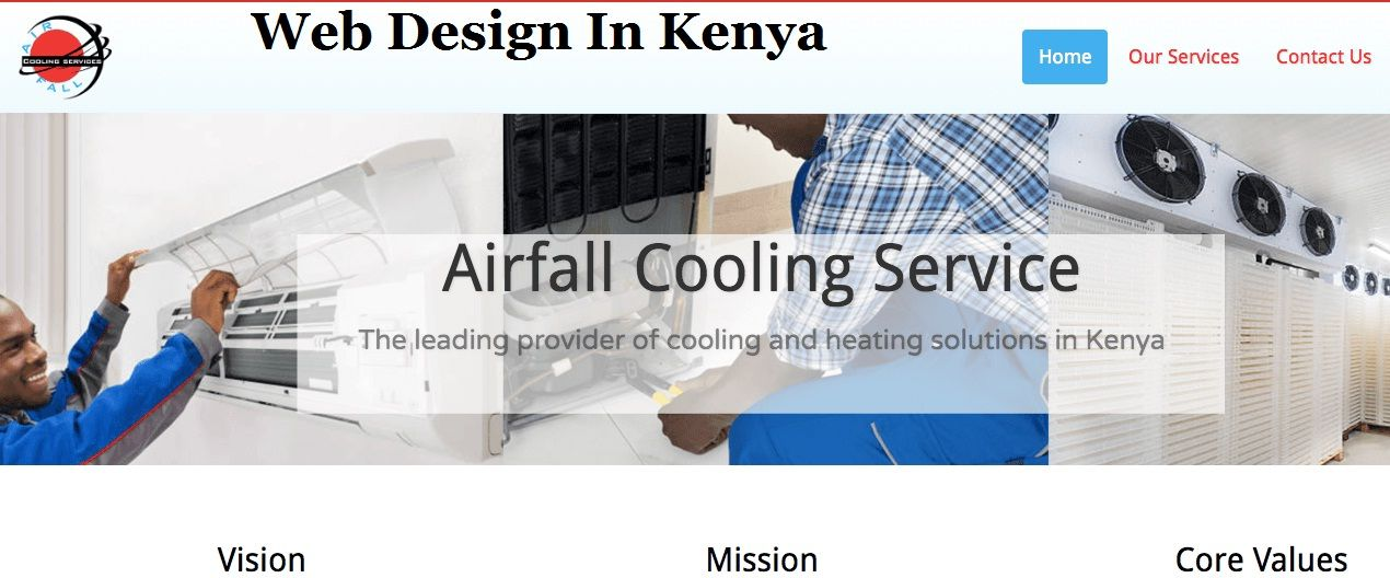 Most Consistent And Inexpensive Services For Web Design In Kenya Web Design Top Web Designs Free Website