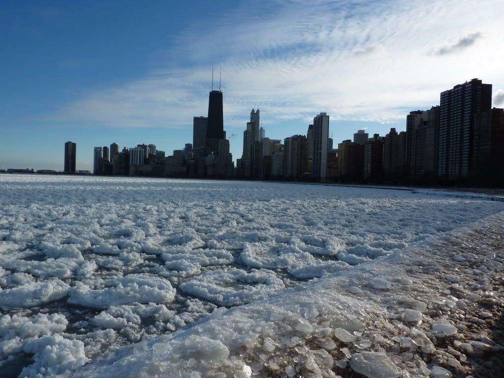 Lake Michigan Has Frozen Over As Temperatures Reach -40C ...