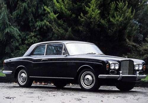 Bentley T1 2dr Coupe 1969 Rolls Royce Bentley Bentley Motors