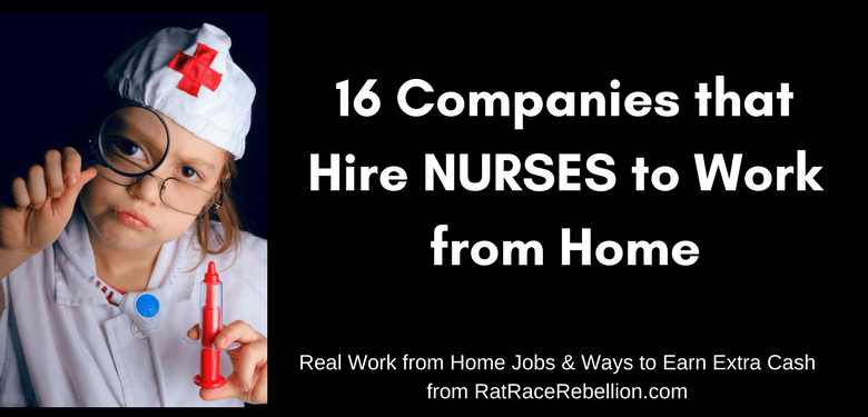 16 Companies That Hire Nurses To Work From Home Working From