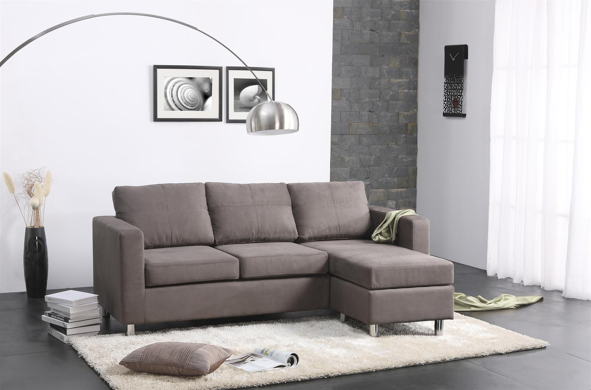 $300 Small Spaces Sectional Sofa walmart