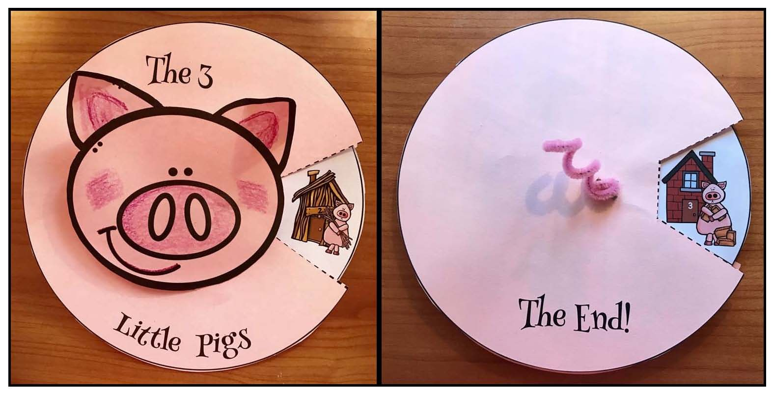 Activities Crafts For The 3 Little Pigs Fairy Tale Little Pigs Pig Crafts Fairy Tale Crafts [ 802 x 1574 Pixel ]