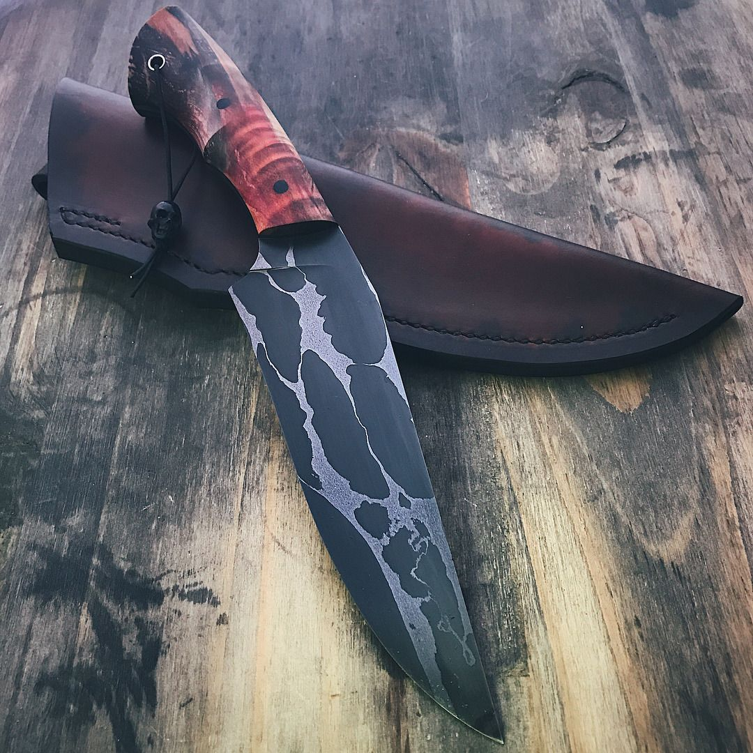 Finished The Leather Sheath For This One Canister