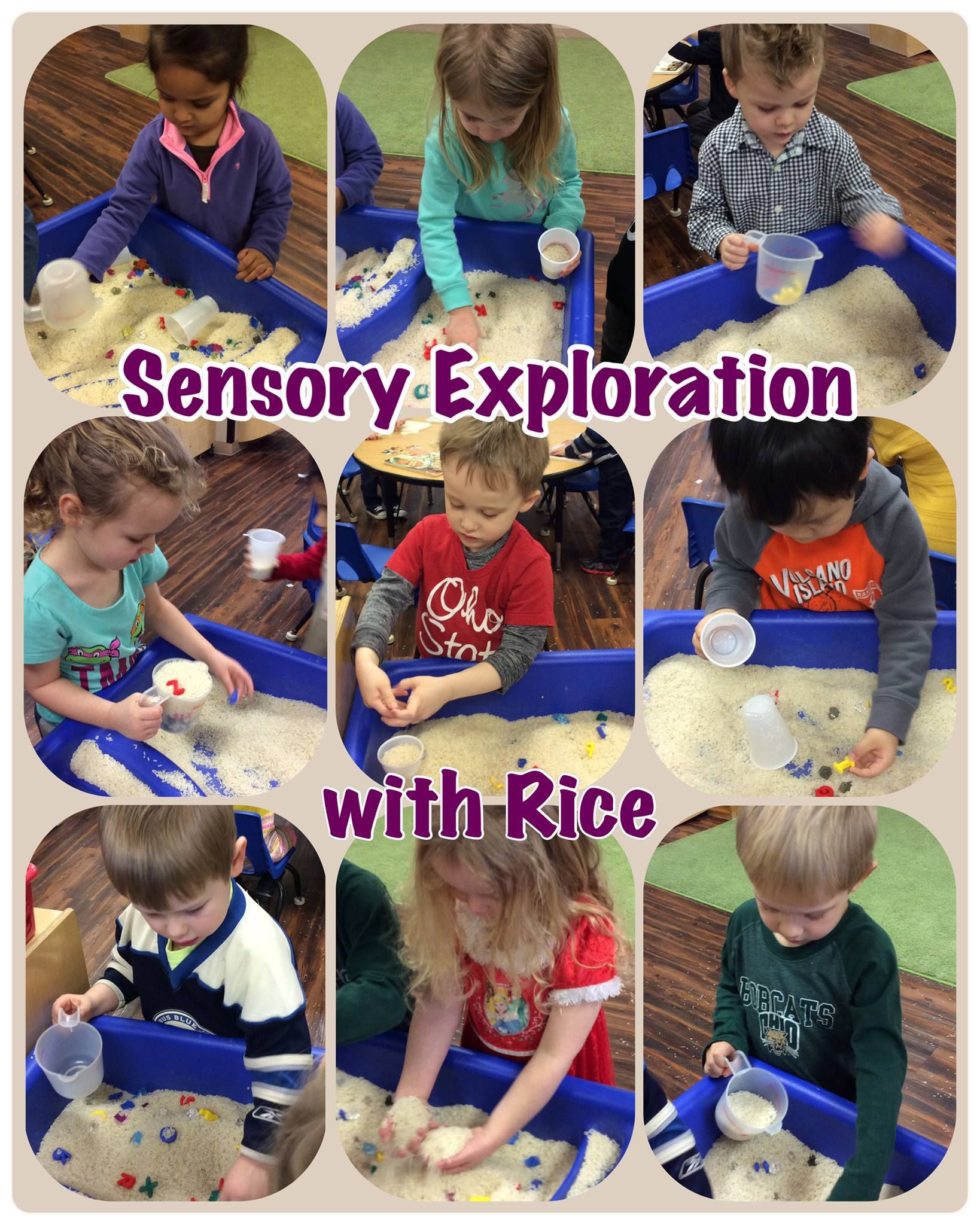 Sensory Exploration For Preschoolers With Rice You Have At