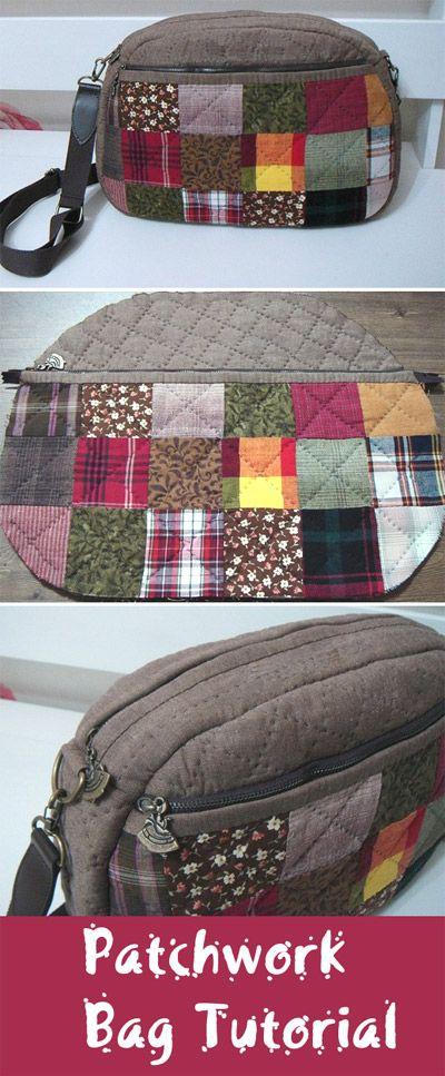 patchwork bag tutorial bags pinterest taschen n hen. Black Bedroom Furniture Sets. Home Design Ideas