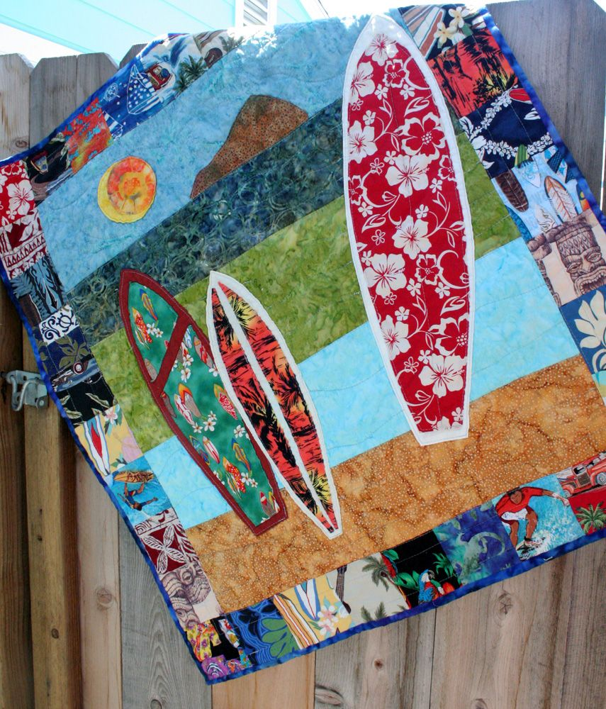 De Aloha Quilt.I Would Frame This As Art In My Home Live Aloha Pinterest