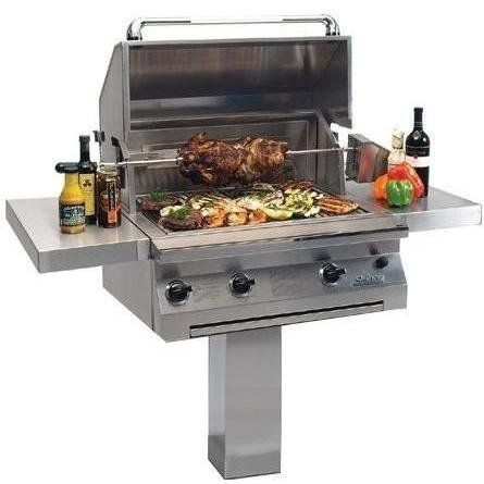 Solaire 30 Inch All Convection Propane Gas Grill With Rotisserie On Inground Post Solagbq30igplp Read More Reviews Of Gas Grill Natural Gas Grill Grilling