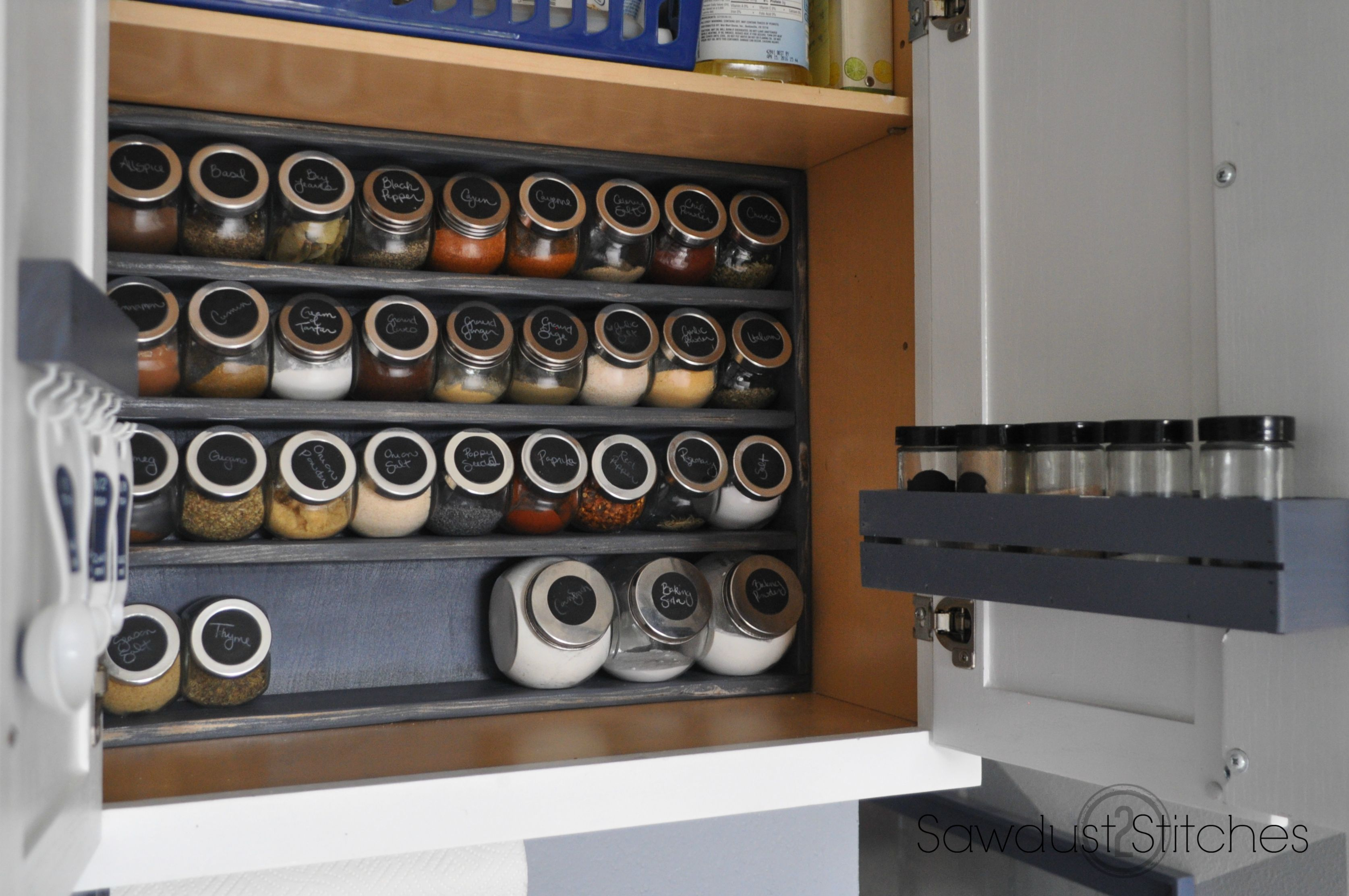 Spice Cabinet Cabinet Makeover Spice Storage Ikea