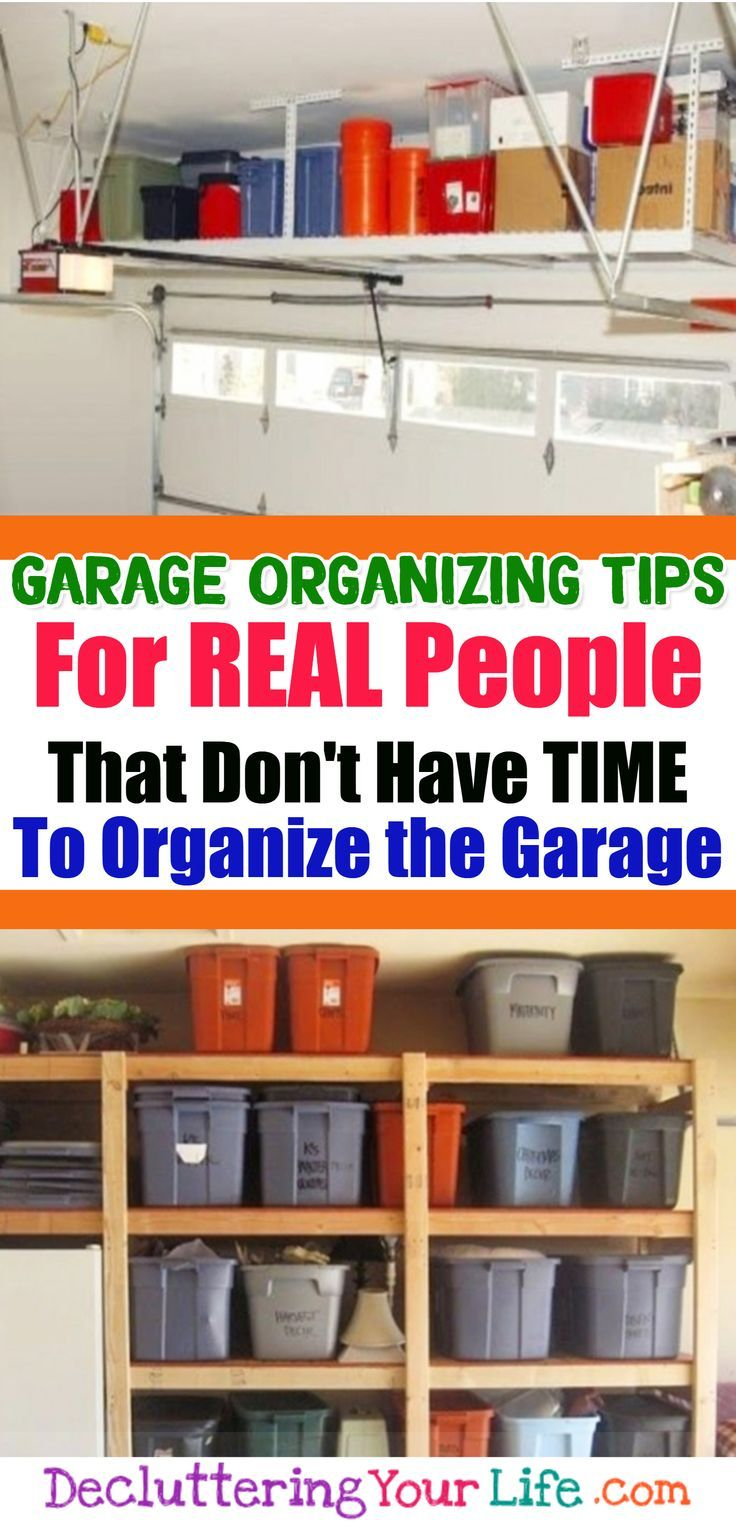 5 Quick And Cheap Garage Organizing Ideas Part - 45: Pinterest