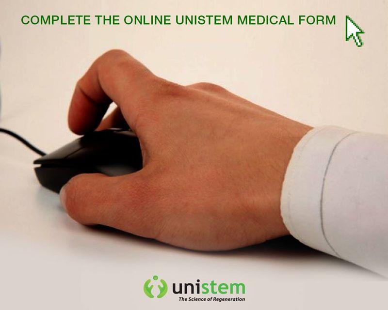 Complete the online Unistem Medical Form Additionally, please - medical form