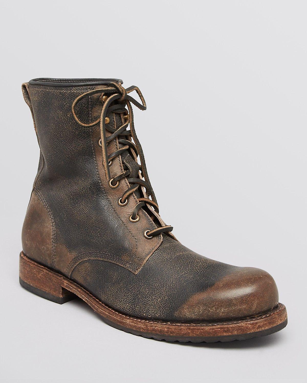 Frye Wayde Combat Leather Boots | Bloomingdale's