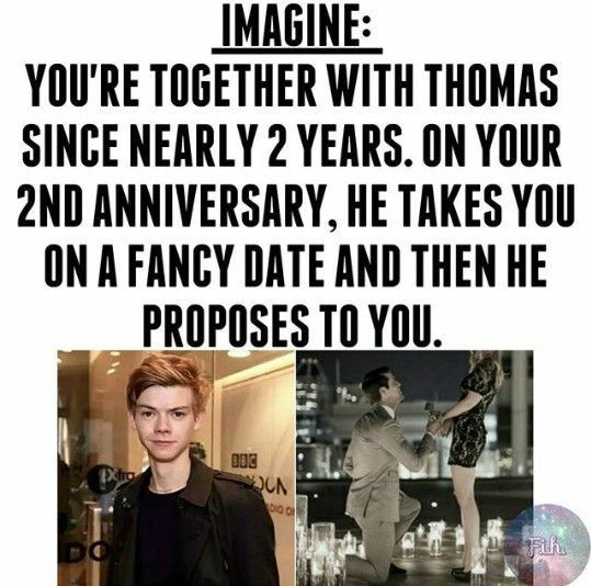 Of course I'll marry you!