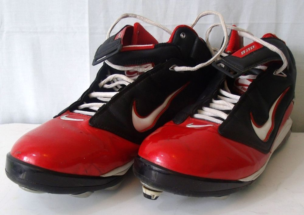 Nike Air Lt Superbad Red White And Blue Football Cleats Size 12 Blue Football Football Cleats Football Shoes