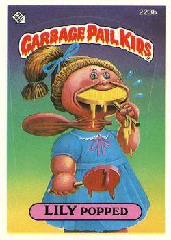 Garbage Pail Kids Original Series 6 Geepeekay Garbage Pail Kids Garbage Pail Kids Cards Garbage