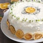 you are a lemon lover, you will adore this easy recipe for homemade lemon poppy layer cake topped with a cloud of sweet lemon buttercream frosting!