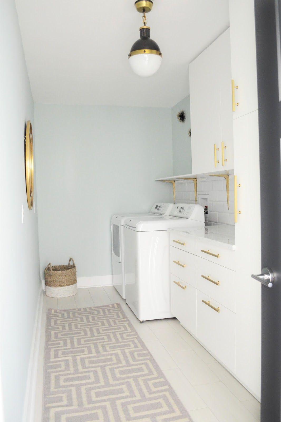 Laundry Room Hicks Pendant | Brushed Brass Cabinet Hardware