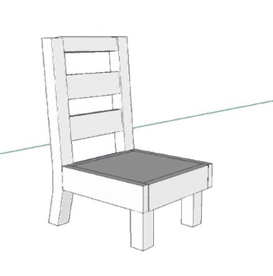 Attirant Free DIY Furniture Plans: How To Build A Toddler Sized Slipper Chair | The  Design Confidential | Diy | Pinterest | Diy Furniture Plans, Slipper Chairs  And ...