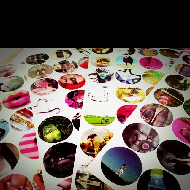 Lovely lomography stickers :)