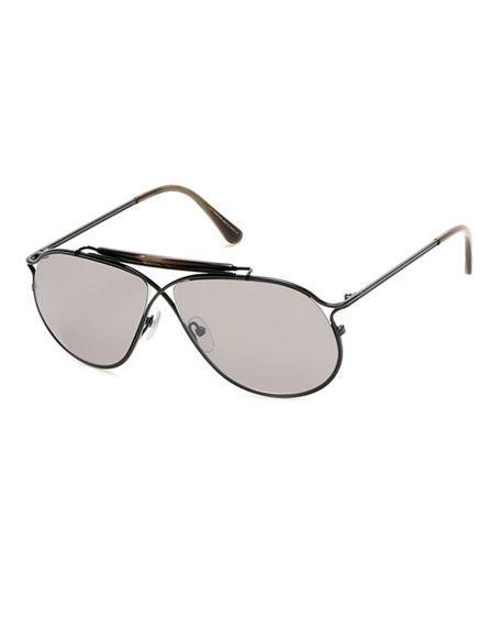 e50c3cbdeeb1 TOM FORD Tom N.6 Private Collection Titanium Sunglasses.  tomford ...