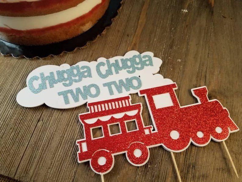 Chugga chuugga two two train birthday party decorations