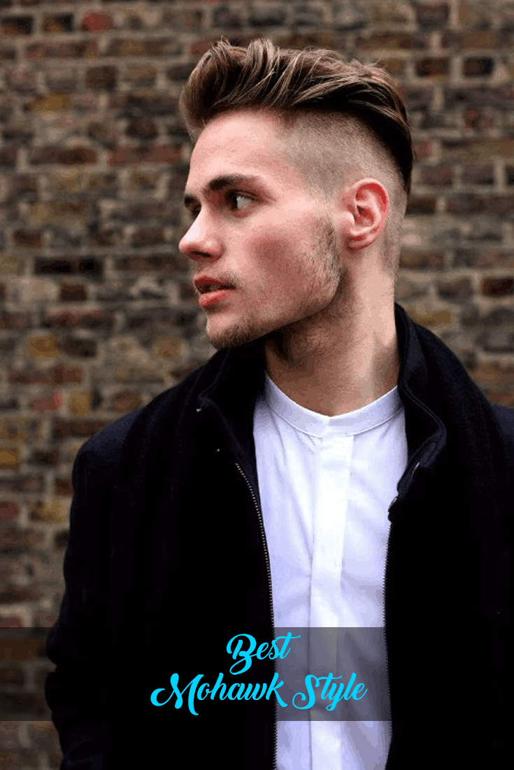 Best mohawk style men should give it a try in mens hairstyle