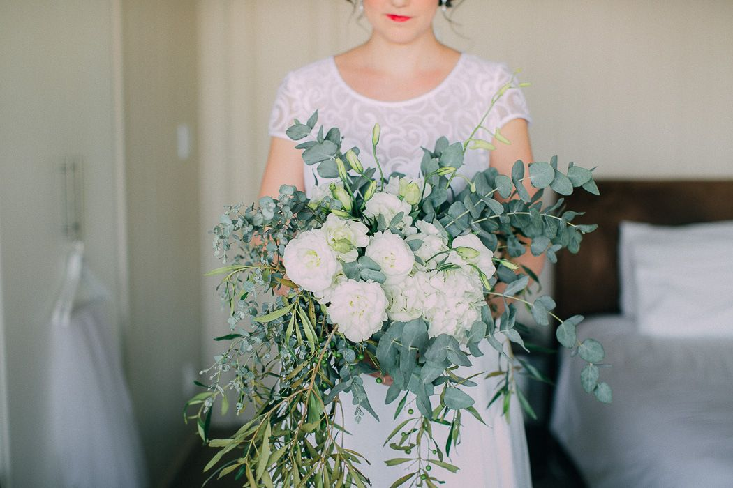 Organic Greenery Bouquet | Credit: Michelle du Toit