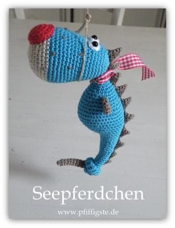 Seepferdchen Gratis Selfmade Pinterest Häkeln Seepferdchen