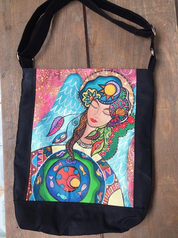 Bolsos bolsopintado pintados a bolsospintadosamano hechoamano qT6XwZZ