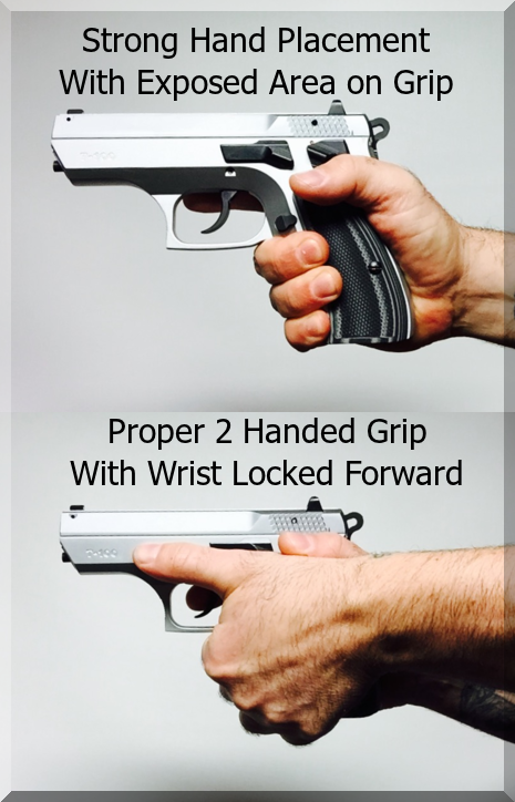 Grip Your Handgun Correctly And Shoot Better Revisited Concealed Carry Inc Hand Guns Grip Firearms Training