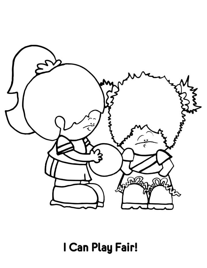Coloring Page Forgive Christian Coloring