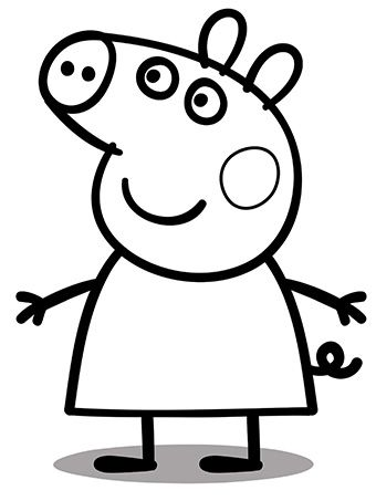 Peppa 1 Peppa Pig Colouring Peppa Pig Coloring Pages Peppa Pig Drawing