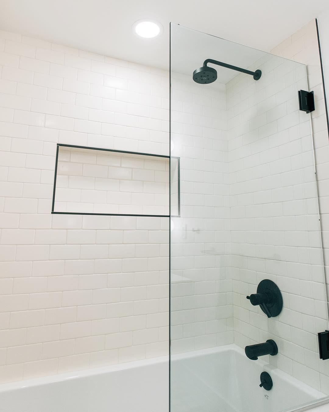 tile edge bathroom shower